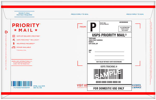 Priority Mail Shipping upgrade for seeds. (USA only)