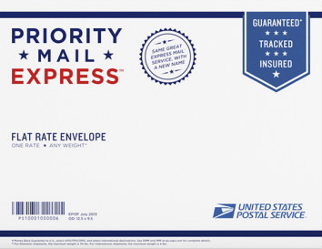 Priority Mail Express upgrade for seeds. (International only)
